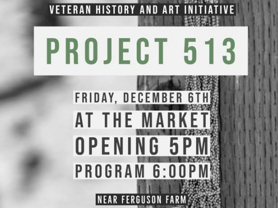 Project 513 Exhibit Advertisement Poster