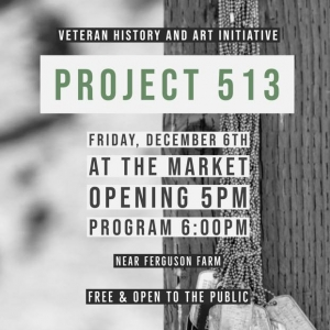Project 513 Exhibit Advertisement Poster