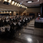 Nearly 400 people attended the 14th annual Women in Engineering Dinner at the Montana State University SUB Ballroom on Feb. 23, 2017. MSU photo by Jesslyn Marie.