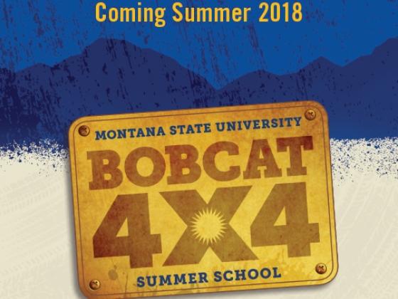 Summer School in Bozeman Bobcat 4x4 logo