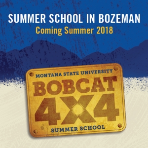 Summer School in Bozeman Bobcat 4x4 logo