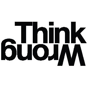 Think Wrong logo