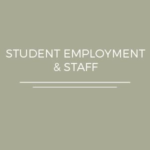 Student Employment & Staff