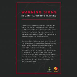 Warning Signs: Human Trafficking Training
