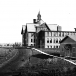 Historic photo of Montana Hall