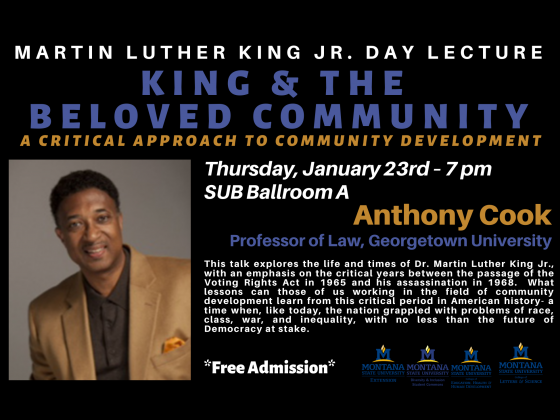 Lecturer: Anthony Cook, Professor of Law, Georgetown University