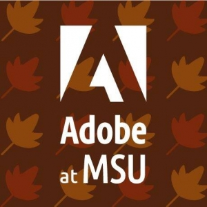Adobe at MSU Fall Logo