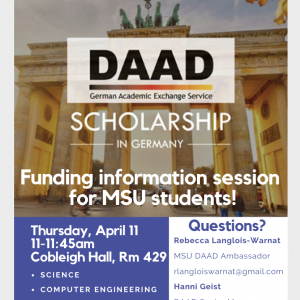 DAAD Info Session