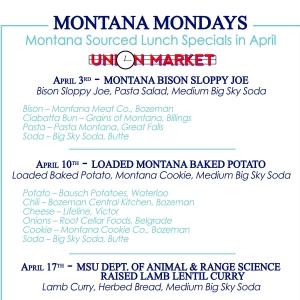 April Montana Mondays