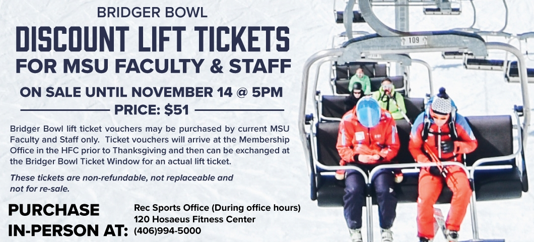Discounted Bridger Lift Tickets