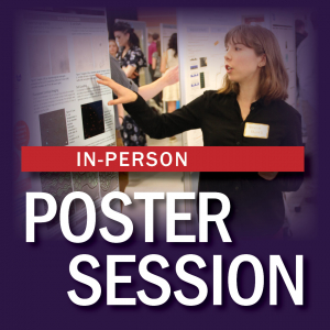 graphic with text and a person pointing to a poster on a board
