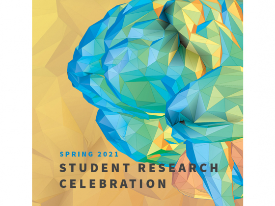 Spring 2021 Student Research Celebration poster