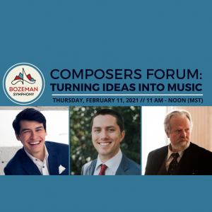 Composers Forum: Turning Ideas into Music