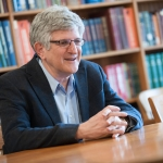 Dr. Paul Offit, director of the Vaccine Education Center at the Children's Hospital of Philadelphia will open the Maurice Hilleman Vaccine Symposium at Montana State University, Friday, April 22, 2016. MSU photo by Kelly Gorham
