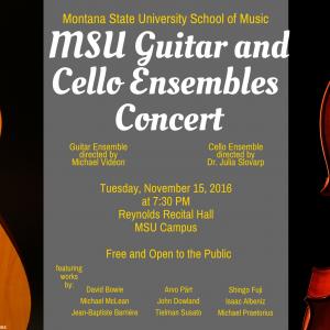 Guitar and Cello Ensemble Concert
