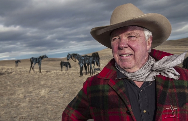 Jim Dolan's horse herd is artist's gift to people of Montana