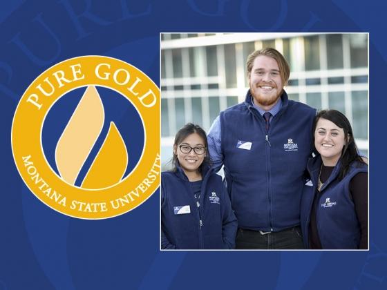 Megan Prettyman, Yujian (IVY) Wang, and David Carlisle, you are PURE GOLD! |