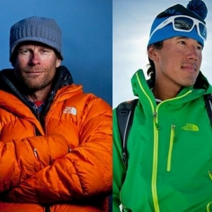 Conrad Anker and Jimmy Chin