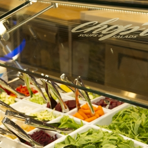 Miller chop't salad bar