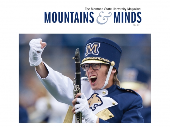 Mountains and Minds Fall 2017 cover   University Communications/MSU