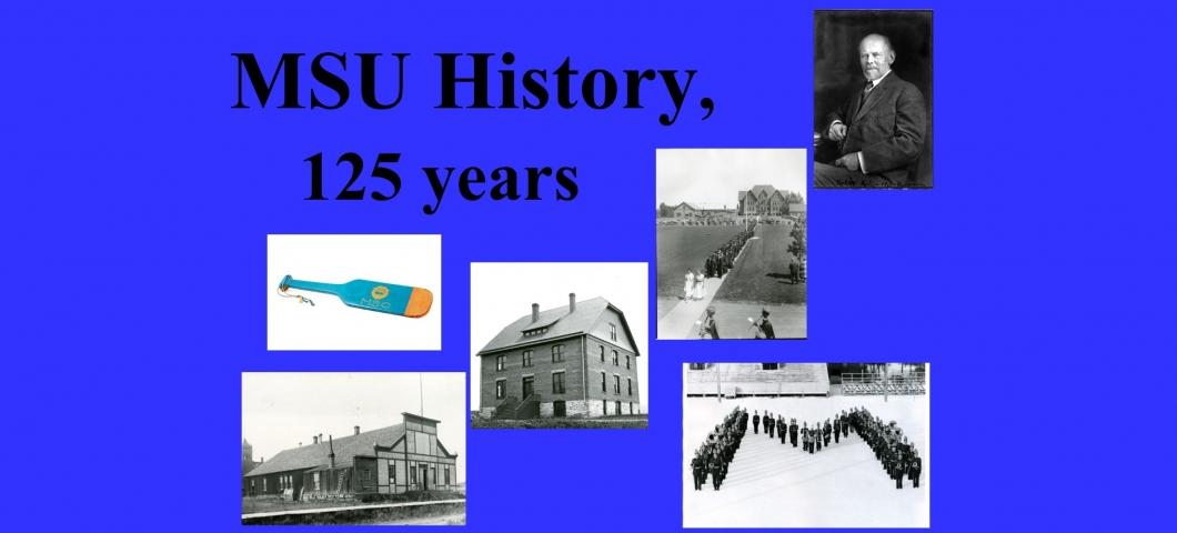 Spec Coll Display - MSU History - 5