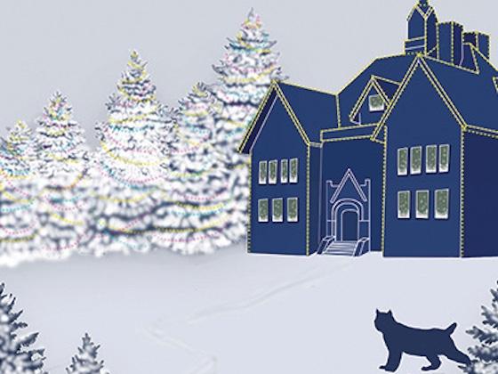 Lights on Montana Hall image |