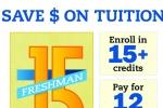 Image of Freshman 15 poster | MSU Communications