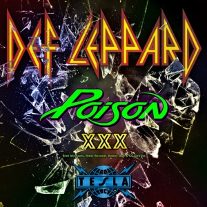 Def Leppard with special guests Poison and Tesla