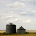 """Sorenson also won first place in the 2017 American Institute of Architects National Photography Competition for his photograph """"Two of a Kind,"""" shown here. The photo was taken in a field outside Fort Benton, Montana. Photo by Henry Sorenson."""