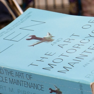 Photo of Zen and the Art of Motorcycle Maintenance by Robert Pirsig