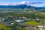 Aerial view of Bozeman, Montana