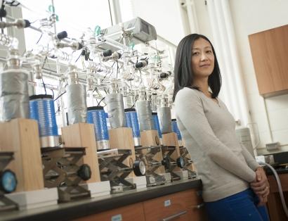 Jia Hu ecology professor | MSU photo by Kelly Gorham