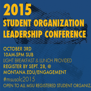 Student Org Leadership Conference