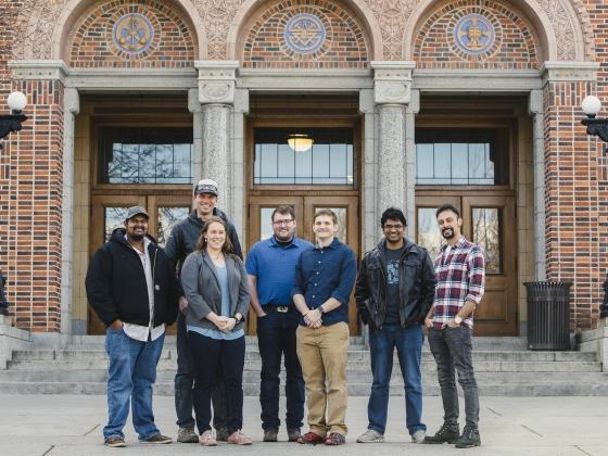 Three-Minute Thesis Student Participants | MSU Photo by Adrian Sanchez-Gonzalez