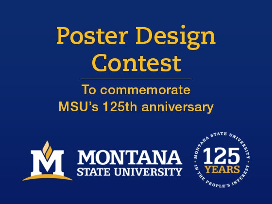 Poster contest for 125th anniversary. |