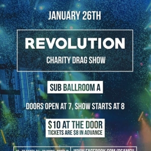 Doors open @ 7pm, show starts @ 8pm.  Tickets are $10 at the door and $8 in advance!  Tickets can be bought at all Bobcat Ticket Locations and online.