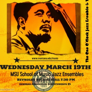 Jazz Funk & Soul, Wednesday March 19th