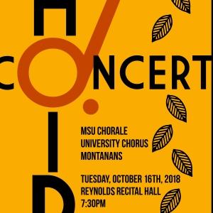 Fall Choir Concert