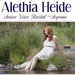 Alethia Recital Poster