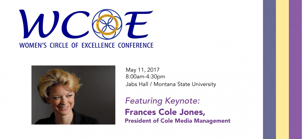 Annual Women's Circle of Excellence Conference will be held May 11