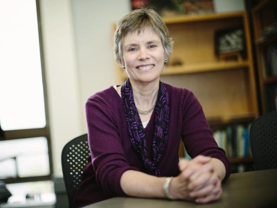 Cathy Whitlock.   MSU photo by Adrian Sanchez-Gonzalez