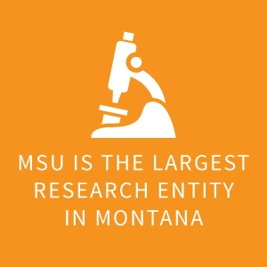 MSU is the largest research entity in Montana |