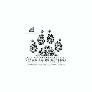 Paws to de-Stress Logo
