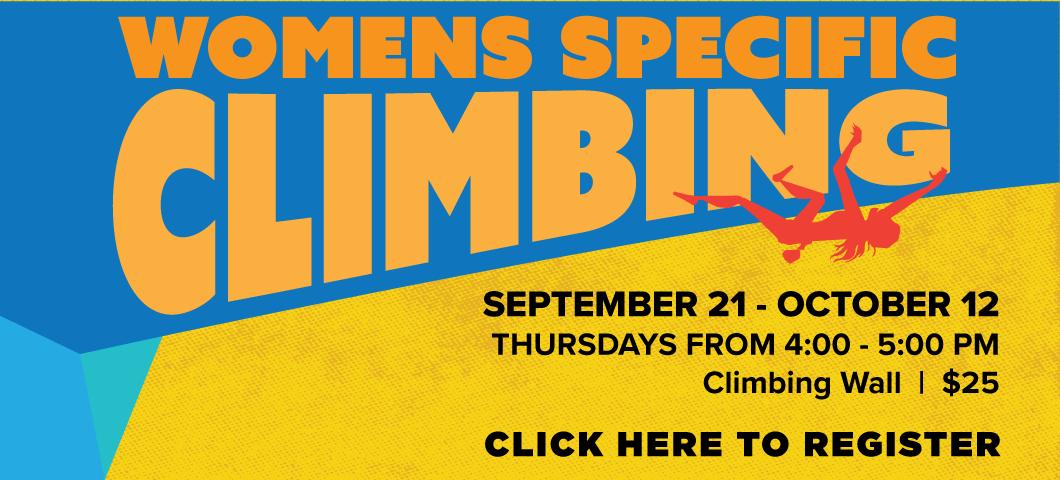 Women's Specific Climbing