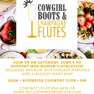 Cowgirl Boots & Champagne Flutes - June 9th!
