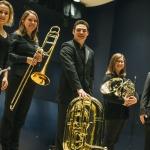 Bridger Brass Quintet Wins First Place in State MTNA