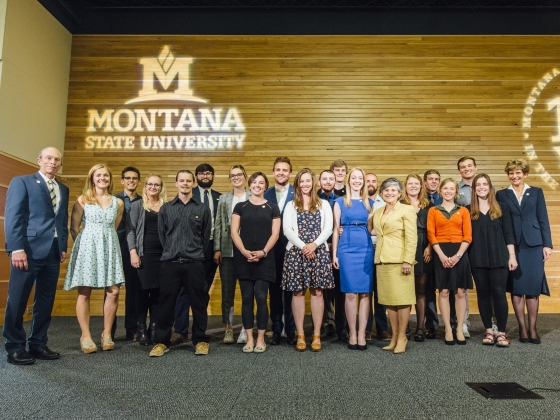 2018 Presidential Scholars Reception | MSU Photo by Adrian Sanchez-Gonzalez