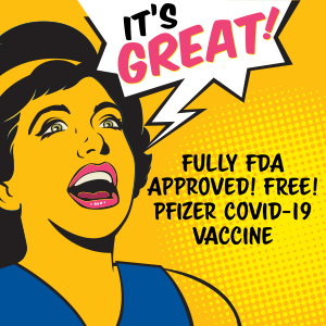 FDA approved Pfizer vaccine clinic