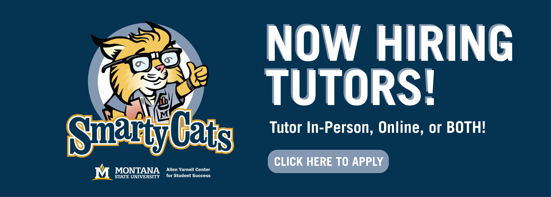 Now hiring tutors! Click here.