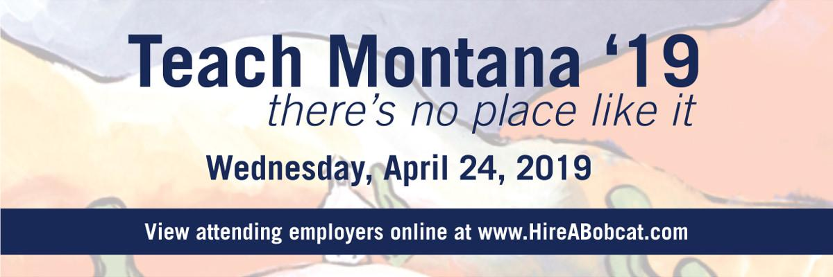 Takes place on Wednesday, April 24, 2019. View attending employers online at www.HireABobcat.com!